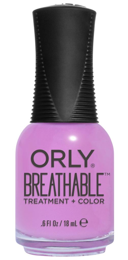 Orly Профессиональный дышащий уход (цвет) за ногтями 911 TLC 18 млУТ00000798Бренд ORLY разработал первый профессиональный цветной дышащий уход за ногтями BREATHABLE. Инновационная дышащая технология BREATHABLE создаёт на ногте проницаемую пленку, позволяющую кислороду, влаге и активным ингредиентам препарата достигать поверхности ногтя. BREATHABLE от ORLY — уход и цвет в одном флаконе!Преимущества BREATHABLE от ORLY: 1. Способствует росту и укреплению ногтей благодаря дышащей технологии и формуле с аргановым маслом, витамином С и провитамином В5. 2. Формула «Все в одном» позволяет наносить BREATHABLE без использования базового и верхнего покрытий. 3. Запатентованная плоская кисть для удобного нанесения. · 4. Стойкость.Палитра BREATHABLE от ORLY — это роскошные оттенки и прозрачный блеск-уход для ультраглянца.Стильный маникюр и профессиональный уход – это новинка BREATHABLE от ORLY!