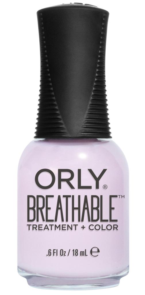 Orly Профессиональный дышащий уход (цвет) за ногтями 913 PAMPER ME 18 млKGP160SБренд ORLY разработал первый профессиональный цветной дышащий уход за ногтями BREATHABLE. Инновационная дышащая технология BREATHABLE создаёт на ногте проницаемую пленку, позволяющую кислороду, влаге и активным ингредиентам препарата достигать поверхности ногтя. BREATHABLE от ORLY — уход и цвет в одном флаконе!Преимущества BREATHABLE от ORLY: 1. Способствует росту и укреплению ногтей благодаря дышащей технологии и формуле с аргановым маслом, витамином С и провитамином В5. 2. Формула «Все в одном» позволяет наносить BREATHABLE без использования базового и верхнего покрытий. 3. Запатентованная плоская кисть для удобного нанесения. · 4. Стойкость.Палитра BREATHABLE от ORLY — это роскошные оттенки и прозрачный блеск-уход для ультраглянца.Стильный маникюр и профессиональный уход – это новинка BREATHABLE от ORLY!