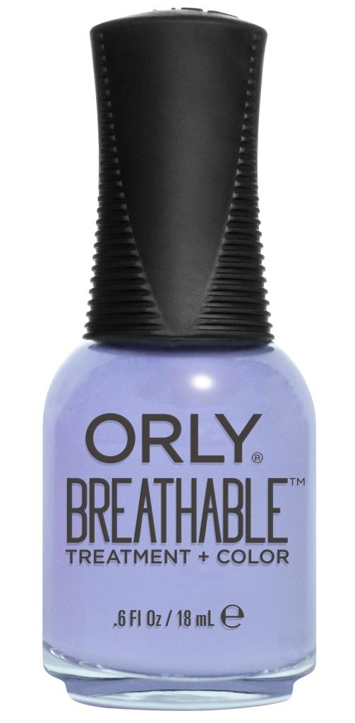 Orly Профессиональный дышащий уход (цвет) за ногтями 918 JUST BREATHE 18 млHR H25Бренд ORLY разработал первый профессиональный цветной дышащий уход за ногтями BREATHABLE. Инновационная дышащая технология BREATHABLE создаёт на ногте проницаемую пленку, позволяющую кислороду, влаге и активным ингредиентам препарата достигать поверхности ногтя. BREATHABLE от ORLY — уход и цвет в одном флаконе!Преимущества BREATHABLE от ORLY: 1. Способствует росту и укреплению ногтей благодаря дышащей технологии и формуле с аргановым маслом, витамином С и провитамином В5. 2. Формула «Все в одном» позволяет наносить BREATHABLE без использования базового и верхнего покрытий. 3. Запатентованная плоская кисть для удобного нанесения. · 4. Стойкость.Палитра BREATHABLE от ORLY — это роскошные оттенки и прозрачный блеск-уход для ультраглянца.Стильный маникюр и профессиональный уход – это новинка BREATHABLE от ORLY!