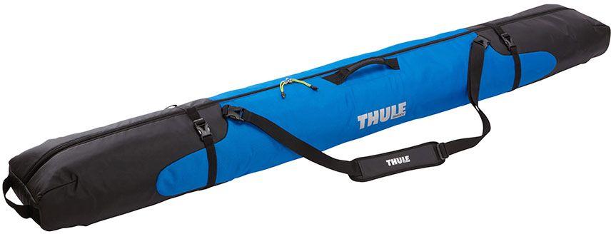 Чехол для горных лыж Thule  RoundTrip Single Ski , цвет: синий, для одной пары - Горные лыжи