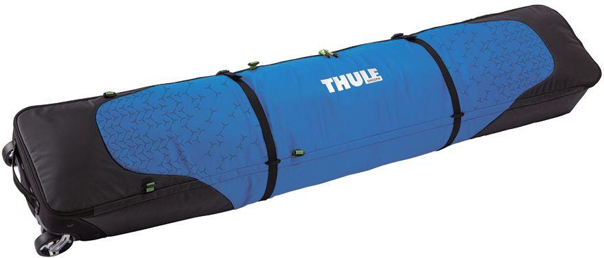 Чехол для горных лыж Thule  RoundTrip Double Ski Roller  , цвет: синий, для двух пар - Горные лыжи
