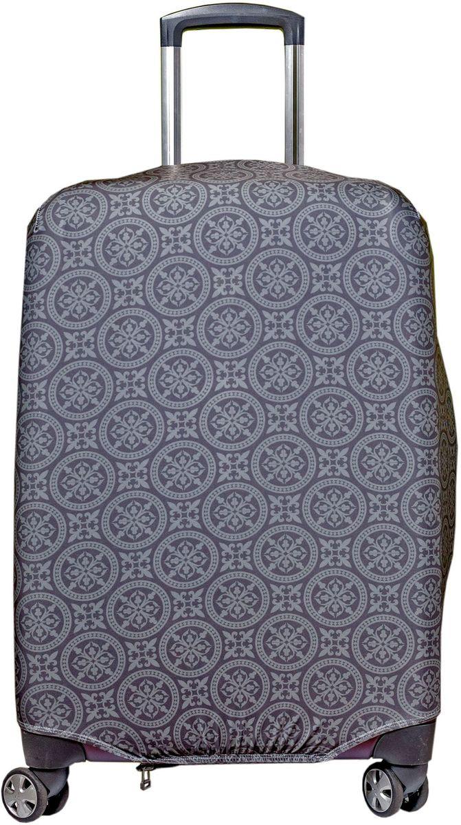Чехол для чемодана Fancy Armor Travel Suit Eco. Фортуна, размер M/L (52-65 см)FTS_ECO_802Чехол Fancy Armor Travel Suit Eco. Фортуна предназначен для чемоданов высотой 52-65 см, выполнен из спандекса - легкого, эластичного и стойкого к разрыву материала, плотностью 240 г/см3. Универсальный чехол для большого чемодана защищает чемодан и вещи от грязи и повреждений, заменяет пленку в аэропорту и позволяет сэкономить время и деньги на упаковке багажа, а также поможет безошибочно отличить свой чемодан. Запатентованная выкройка обеспечивает идеальную посадку, а высокое качество пошива и используемых материалов гарантирует долгую службу чехла. Обработанные силиконовой резинкой вырезы специальной формы обеспечивают удобный доступ ко всем ручкам чемодана.