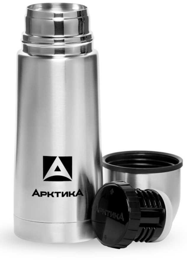 Термос Арктика, с узким горлом, цвет: стальной, 1 лKOC-H19-LEDТермос Арктика изготовлен из пищевой нержавеющей стали. Вакуум данной модели надежно поддерживает температуру содержимого в течение 26 часов. Термос будет незаменим в любое время года: в зимние холода вы сможете наслаждаться горячим чаем, кофе, а в жаркие летние дни – прохладительными напитками. Небольшие формы и вес помогут всегда держать его под рукой. Для того, чтобы налить напиток, вам не потребуется полностью открывать пробку. Достаточно слегка отвернуть ее и налить содержимое в чашку через специальный канал.Объем термоса: 1 л.Диамр горлышка: 4,4 см.
