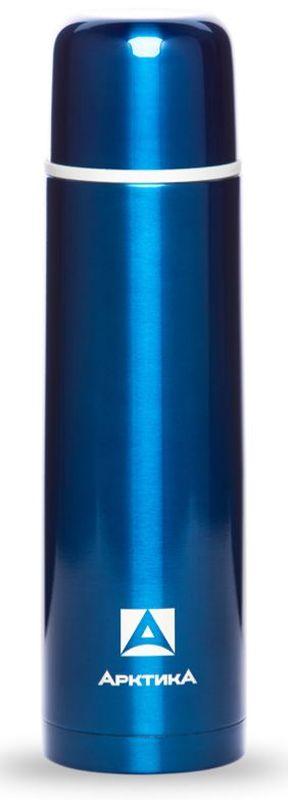 Термос Арктика, с узким горлом, классический, цвет: синий, 1 лVT-1520(SR)ТЕРМОС С УЗКИМ ГОРЛОМ, КЛАССИЧЕСКИЙНазначение Для напитков, Материал Пищевая нержавеющая сталь 18/8, Держит тепло/холод (ч) 28, Объем (мл) 1000 мл