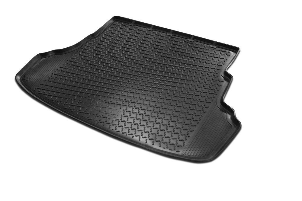 Коврик багажника Rival для Chevrolet Captiva (5 мест) 2012-, полиуретанАксион Т-33Коврик багажника Rival позволяет надежно защитить и сохранить от грязи багажный отсек вашего автомобиля на протяжении всего срока эксплуатации, полностью повторяют геометрию багажника.- Высокий борт специальной конструкции препятствует попаданию разлившейся жидкости и грязи на внутреннюю отделку.- Произведены из первичных материалов, в результате чего отсутствует неприятный запах в салоне автомобиля.- Рисунок обеспечивает противоскользящую поверхность, благодаря которой перевозимые предметы не перекатываются в багажном отделении, а остаются на своих местах.- Высокая эластичность, можно беспрепятственно эксплуатировать при температуре от -45 ?C до +45 ?C.- Изготовлены из высококачественного и экологичного материала, не подверженного воздействию кислот, щелочей и нефтепродуктов. Уважаемые клиенты!Обращаем ваше внимание,что коврик имеет формусоответствующую модели данного автомобиля. Фото служит для визуального восприятия товара.