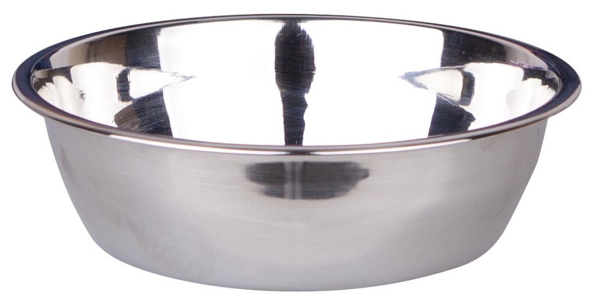 Миска для собак Dezzie Стандар, 350 мл0120710Миска для собак Dezzie Стандар выполнена из нержавеющей стали.С такой миской владелец может быть спокоен за безопасность и хороший внешний вид любимой посуды своего питомца. Размер миски: 14,2 х 14,2 х 4 см.Объем миски: 350 мл.