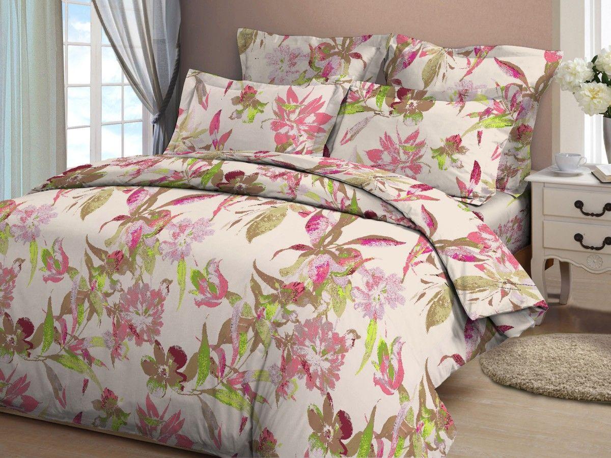 Комплект белья Amore Mio Akvarel, семейный, наволочки 70x70, цвет: розовый, зеленый, коричневый391602Постельное белье из бязи практично и долговечно, а самое главное - это 100% хлопок! Материал великолепно отводит влагу, отлично пропускает воздух, не капризен в уходе, легко стирается и гладится. Новая коллекция Naturel 3-D дизайнов позволит выбрать постельное белье на любой вкус!