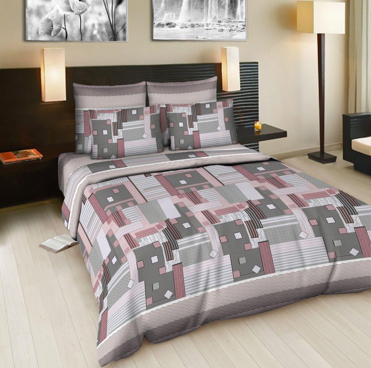 Комплект белья Amore Mio Window, семейный, наволочки 70x70, цвет: серый, розовый83352Комплект постельного белья Amore Mio является экологически безопасным для всей семьи, так как выполнен из бязи (100% хлопок). Постельное белье оформлено оригинальным рисунком и имеет изысканный внешний вид.Легкая, плотная, мягкая ткань отлично стирается, гладится, быстро сохнет.Комплект состоит из двух пододеяльников, простыни и двух наволочек.