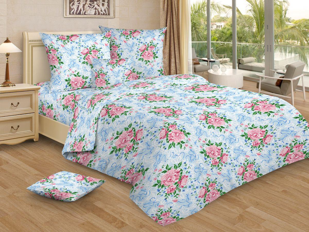 Комплект белья Amore Mio, 1,5-спальный, наволочки 70x70, цвет: голубой, розовыйCLP446Комплект постельного белья Amore Mio является экологически безопасным для всей семьи, так как выполнен из бязи (100% хлопок). Постельное белье оформлено оригинальным рисунком и имеет изысканный внешний вид.Легкая, плотная, мягкая ткань отлично стирается, гладится, быстро сохнет. Комплект состоит из пододеяльника, простыни и двух наволочек.