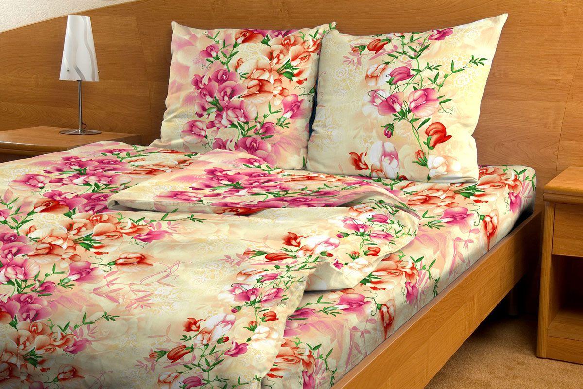 Комплект белья Amore Mio Orhid, 1,5-спальный, наволочки 70x70, цвет: бежевый, розовый, зеленыйPANTERA SPX-2RSКомплект постельного белья Amore Mio является экологически безопасным для всей семьи, так как выполнен из бязи (100% хлопок). Постельное белье оформлено оригинальным рисунком и имеет изысканный внешний вид.Легкая, плотная, мягкая ткань отлично стирается, гладится, быстро сохнет. Комплект состоит из пододеяльника, простыни и двух наволочек.