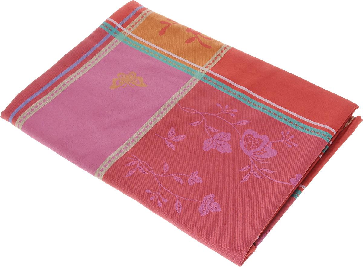 Скатерть Schaefer, прямоугольная, цвет: красный, оранжевый, розовый, 160 x 220 смVT-1520(SR)Прямоугольная скатерть Schaefer, выполненная из плотного полиэстера, станет украшением кухонного стола. Изделие оформлено оригинальным принтом. За текстилем из полиэстера очень легко ухаживать: он не мнется, не садится и быстро сохнет, легко стирается, более долговечен, чем текстиль из натуральных волокон.Использование такой скатерти сделает застолье торжественным, поднимет настроение гостей и приятно удивит их вашим изысканным вкусом. Также вы можете использовать эту скатерть для повседневной трапезы, превратив каждый прием пищи в волшебный праздник и веселье. Это текстильное изделие станет изысканным украшением вашего дома!