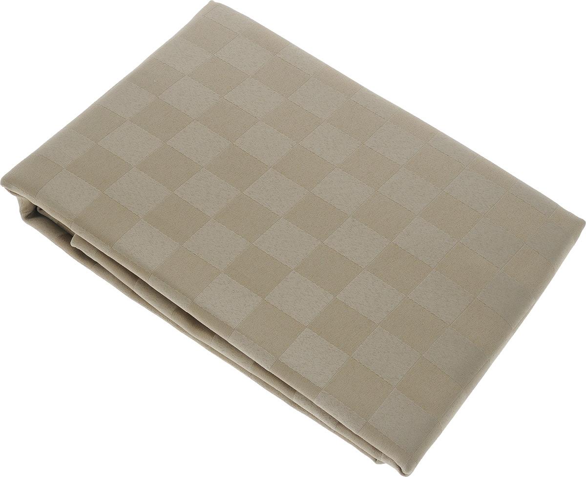 Скатерть Schaefer, прямоугольная, цвет: светло-коричневый, 160 x 220 см. 4169/FB.06CLP446Прямоугольная скатерть Schaefer, выполненная из полиэстера с оригинальным рисунком, станет изысканным украшением кухонного стола. За текстилем из полиэстера очень легко ухаживать: он не мнется, не садится и быстро сохнет, легко стирается, более долговечен, чем текстиль из натуральных волокон.Использование такой скатерти сделает застолье торжественным, поднимет настроение гостей и приятно удивит их вашим изысканным вкусом. Также вы можете использовать эту скатерть для повседневной трапезы, превратив каждый прием пищи в волшебный праздник и веселье. Это текстильное изделие станет изысканным украшением вашего дома!