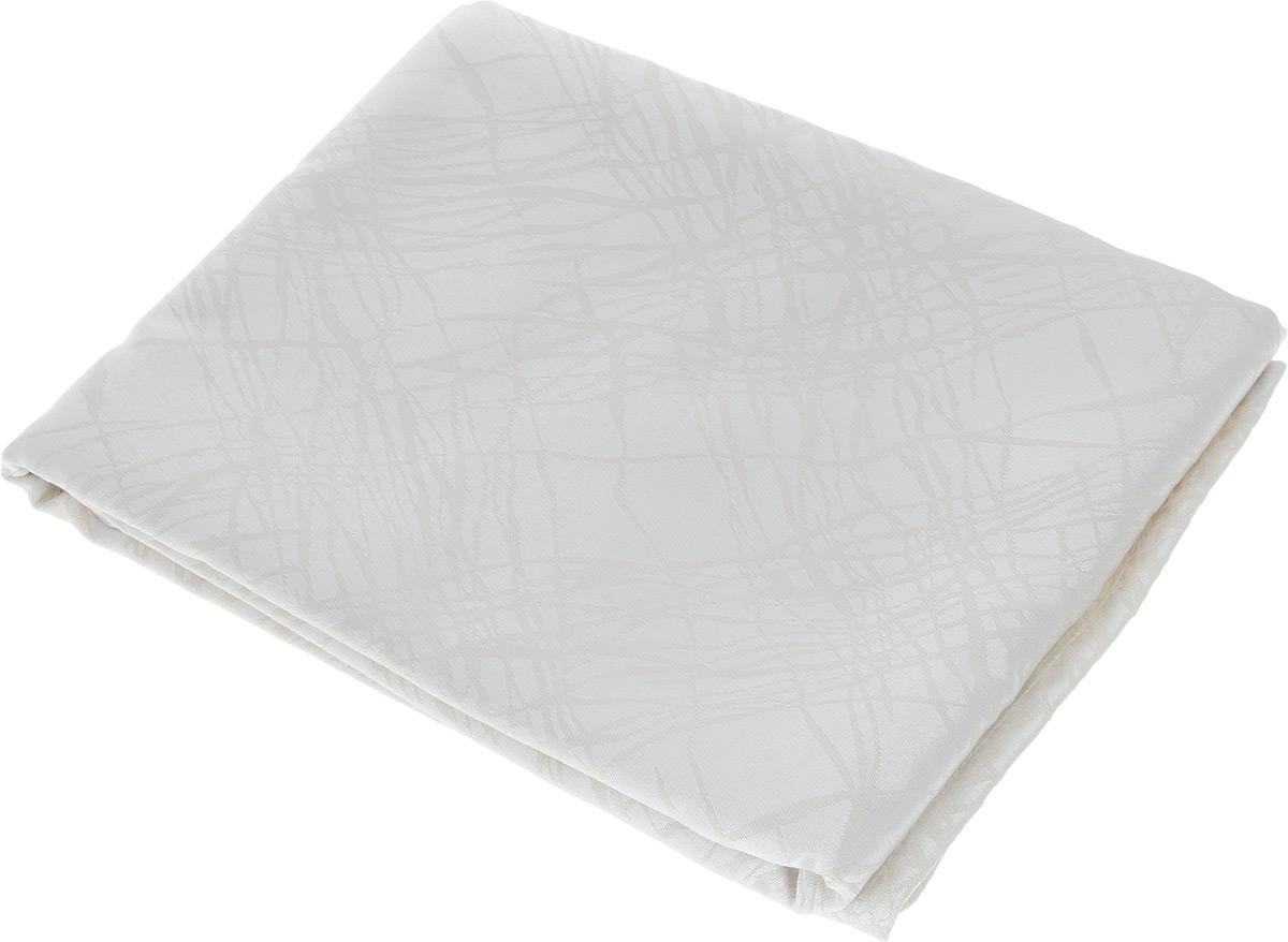 Скатерть Schaefer, прямоугольная, цвет: кремовый, 160 х 220 см. 07812-4081со6534Прямоугольная скатерть Schaefer, выполненная из полиэстера с оригинальным рисунком, станет изысканным украшением кухонного стола. За текстилем из полиэстера очень легко ухаживать: он не мнется, не садится и быстро сохнет, легко стирается, более долговечен, чем текстиль из натуральных волокон.Использование такой скатерти сделает застолье торжественным, поднимет настроение гостей и приятно удивит их вашим изысканным вкусом. Также вы можете использовать эту скатерть для повседневной трапезы, превратив каждый прием пищи в волшебный праздник и веселье. Это текстильное изделие станет изысканным украшением вашего дома!