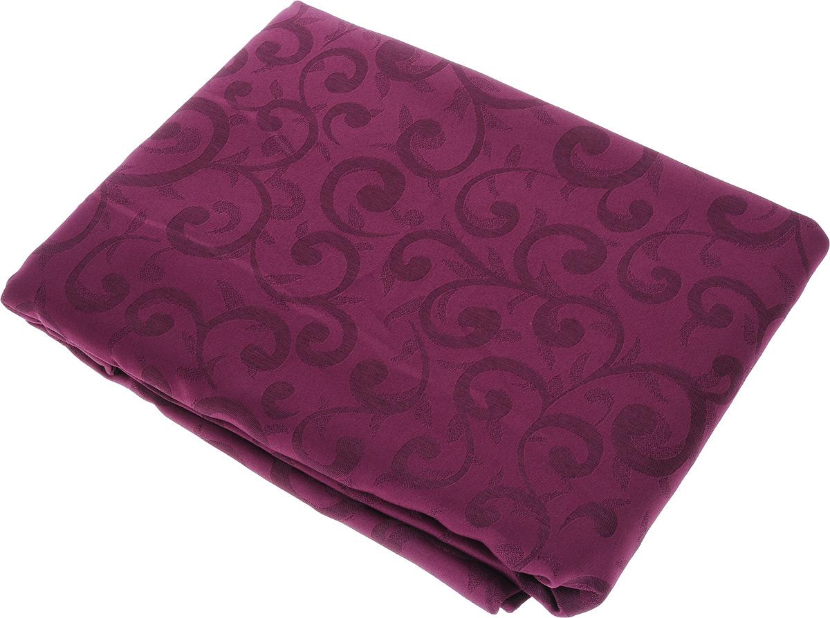 Скатерть Schaefer, овальная, цвет: сливовый, 160 x 220 см. 4161/Fb.04SVC-300Овальная скатерть Schaefer, выполненная из полиэстера с оригинальным рисунком, станет изысканным украшением кухонного стола. За текстилем из полиэстера очень легко ухаживать: он не мнется, не садится и быстро сохнет, легко стирается, более долговечен, чем текстиль из натуральных волокон.Использование такой скатерти сделает застолье торжественным, поднимет настроение гостей и приятно удивит их вашим изысканным вкусом. Также вы можете использовать эту скатерть для повседневной трапезы, превратив каждый прием пищи в волшебный праздник и веселье. Это текстильное изделие станет изысканным украшением вашего дома!