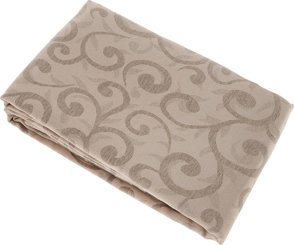 Скатерть Schaefer, прямоугольная, цвет: бежевый, светло-коричневый, 160 x 280 см. 4161/Fb.06CLP446Прямоугольная скатерть Schaefer, выполненная из полиэстера с оригинальным рисунком, станет изысканным украшением кухонного стола. За текстилем из полиэстера очень легко ухаживать: он не мнется, не садится и быстро сохнет, легко стирается, более долговечен, чем текстиль из натуральных волокон.Использование такой скатерти сделает застолье торжественным, поднимет настроение гостей и приятно удивит их вашим изысканным вкусом. Также вы можете использовать эту скатерть для повседневной трапезы, превратив каждый прием пищи в волшебный праздник и веселье. Это текстильное изделие станет изысканным украшением вашего дома!