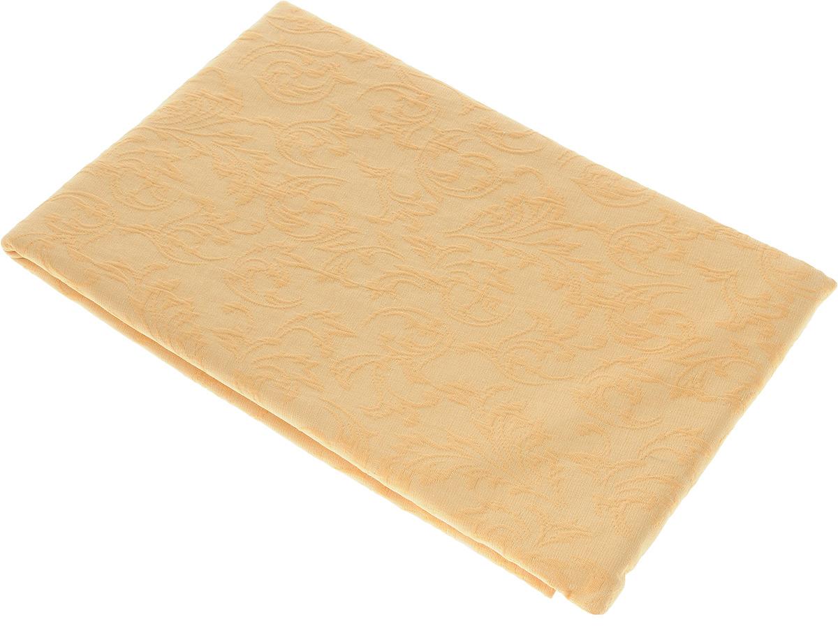 Скатерть Schaefer, круглая, цвет: желто-оранжевый, диаметр 170 см. 4127/Fb.17S03301004Круглая скатерть Schaefer, выполненная из полиэстера и хлопка с оригинальным принтом, станет изысканным украшением стола. За таким текстилем очень легко ухаживать: он легко стирается, не мнется, не садится и быстро сохнет, более долговечен, чем текстиль из натуральных волокон.Изделие прекрасно послужит для ежедневного использования на кухне или в столовой, а также подойдет для торжественных случаев и семейных праздников. Стильный дизайн и качество исполнения сделают такую скатерть отличным приобретением для дома. Это текстильное изделие станет элегантным украшением интерьера!