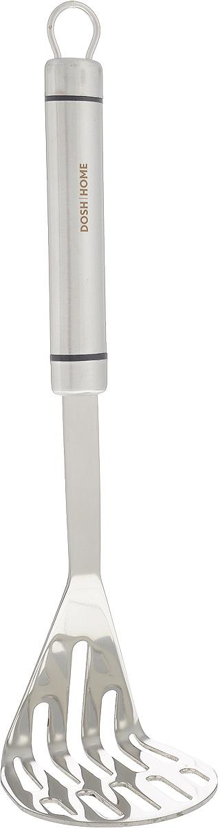 Картофелемялка Dosh Home Orion, длина 30 см115610Картофелемялка Dosh Home Orion изготовлена из высококачественной нержавеющей стали. Удобная рукоятка оснащена ушком для подвешивания.Практичная и удобная картофелемялка займет достойное место среди ваших кухонных принадлежностей.Можно мыть в посудомоечной машине. Длина картофелемялки: 30 см.Размер рабочей поверхности: 8 х 8 см.