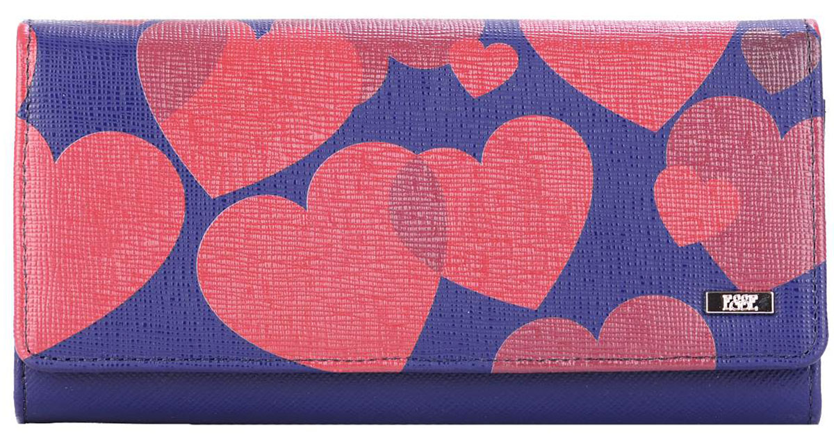 Кошелек женский Esse Радо Jeans, цвет: синий, розовый. GRDO00-00MG00-FG808O-K100INT-06501Esse Радо Jeans - это большой вместительный кошелек. Он имеет 3 широких отделения для купюр и 4 дополнительных открытых кармана, 6 прорезных карманов для кредитных карт (одно в виде кармана с пластиковым окном). На задней стенке - отделение для мелочи, закрывающееся на молнию. Кошелек закрывается на кнопку.