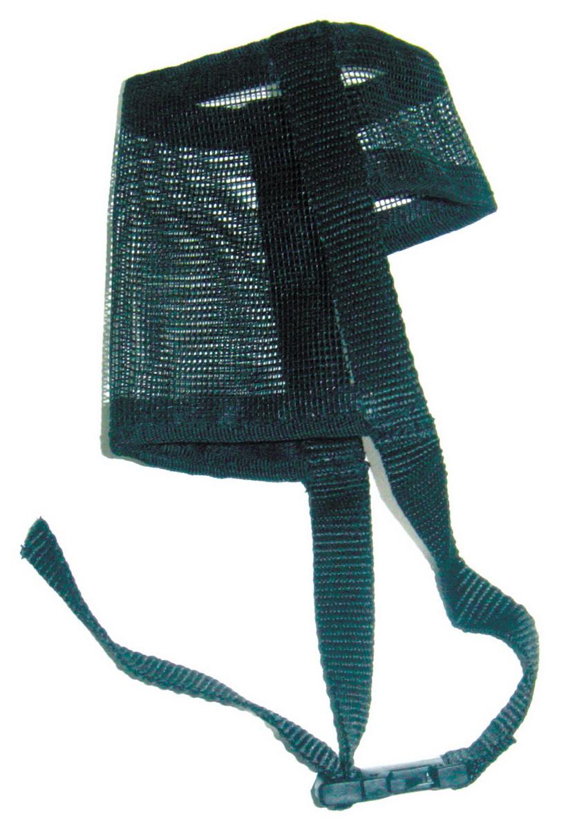 Намордник для собак Dezzie, размер L0120710Намордник изготовлен из мягкой и легкой нейлоновой сетки и легко стирается. Удобная застежка на липучке.