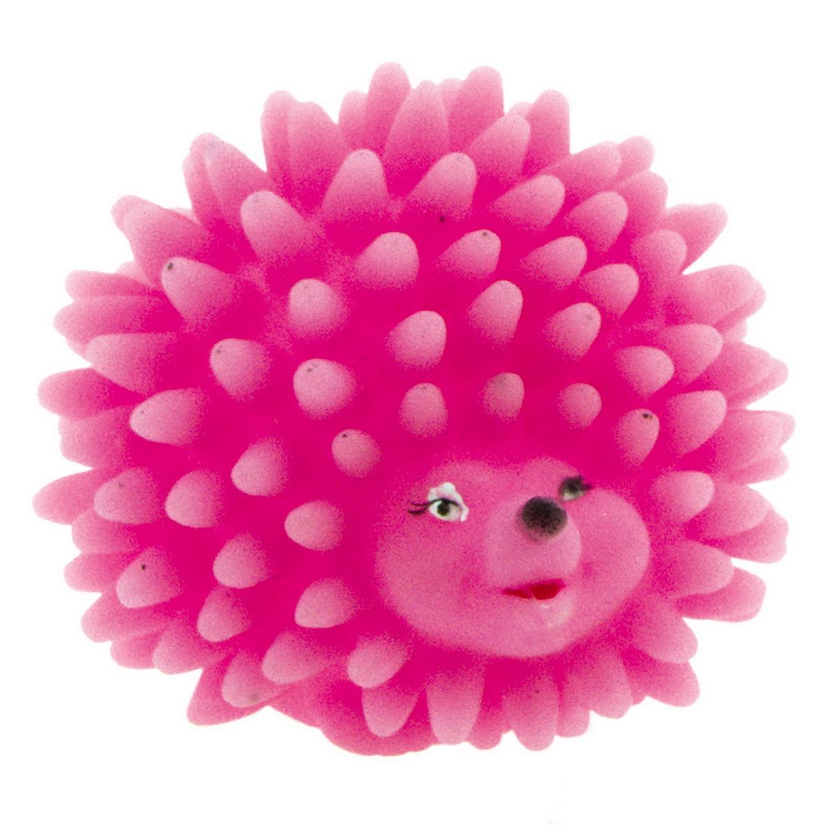 Игрушка для собак Dezzie Мяч. Розовый ежик, цвет: розовый, 8,8 х 8 см0120710Игрушка для собак Dezzie Мяч. Розовый ежик из винила практична, функциональна и совершенно безопасна для здоровья животного. Ее легко мыть и дезинфицировать. Такая игрушка очень легкая, поэтому собаке совсем нетрудно брать ее в пасть и переносить с места на место. Игрушка из винила станет прекрасным подарком для неугомонного четвероногого питомца.Размер игрушки: 8,8 х 8 см.