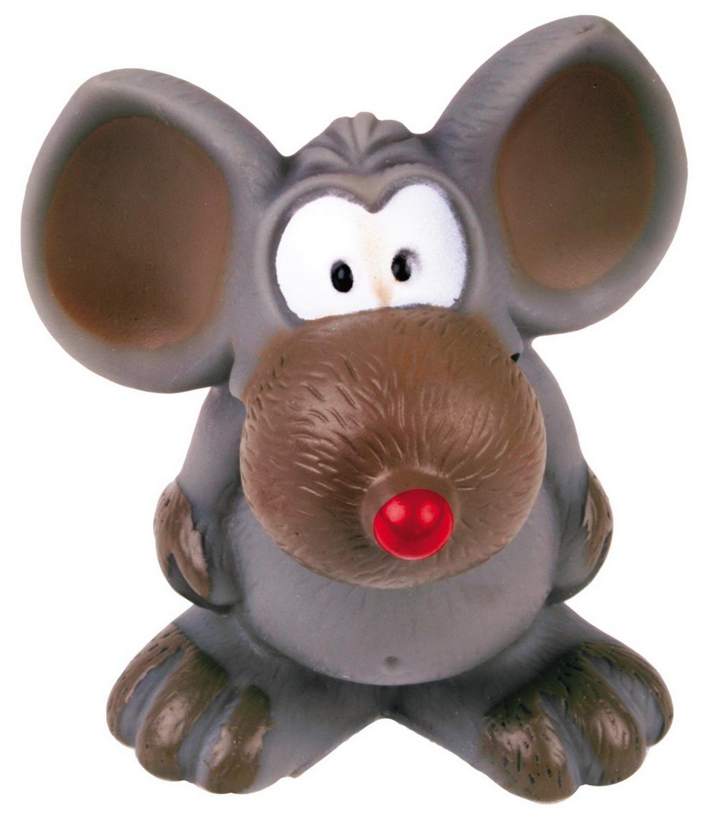 Игрушка для собак Dezzie Мышь, высота 10 см0120710Игрушка для собак Dezzie Мышь изготовлена из винила в виде мышки. Такая игрушка практична, функциональна и совершенно безопасна для здоровья животного. Ее легко мыть и дезинфицировать. Игрушка очень легкая, поэтому собаке совсем нетрудно брать ее в пасть и переносить с места на место. Игрушка для собак Dezzie Мышь станет прекрасным подарком для неугомонного четвероногого питомца.Высота игрушки: 10 см.