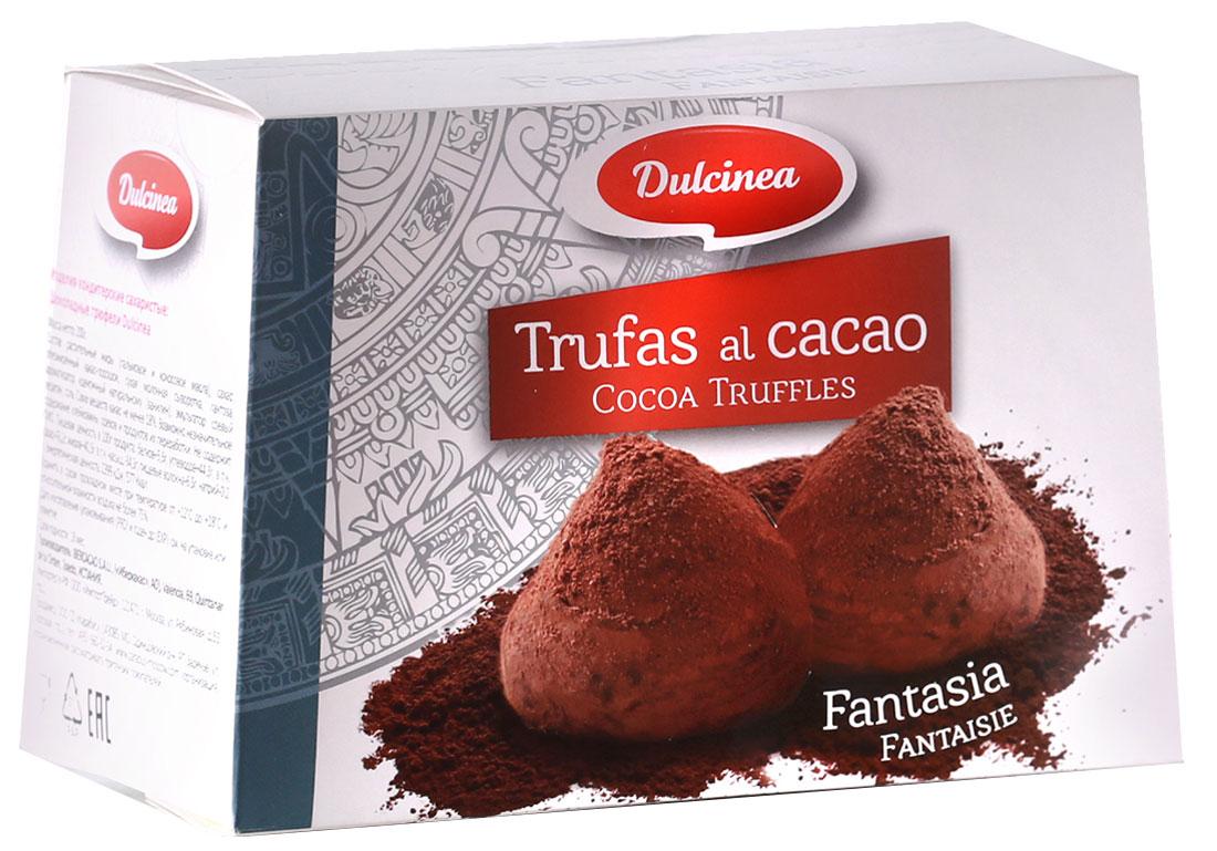 Dulsinea трюфели шоколадные, 200 г0120710Нежно-тающая дымка превосходного шоколада из Испании окутает вас блаженством. Этот десерт создан для истинных ценителей колоритных сладостей с ярким и изысканным вкусом.