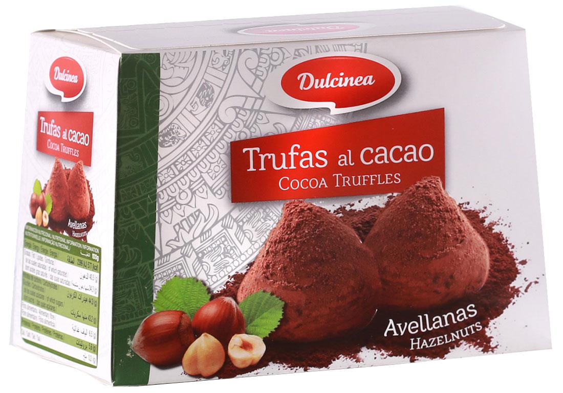 Dulsinea трюфели шоколадные со вкусом лесных орехов, 200 г0120710Нежно-тающая дымка превосходного шоколада из Испании окутает вас блаженством. Этот десерт создан для истинных ценителей колоритных сладостей с ярким и изысканным вкусом.