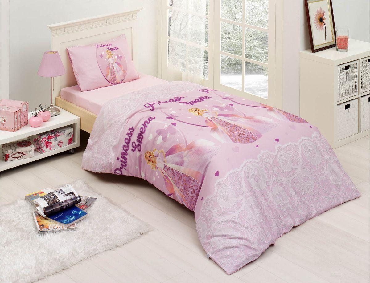 Комплект белья Altinbasak Swena, 1,5-спальный, наволочки 50х70FD 992Комплект постельного белья включает в себя три предмета: простыню, пододеяльник, наволочку, выполненные из ранфорса.Ранфорс - 100% хлопковое волокно, для которого характерна высокая плотность. Ткань отличается повышенной прочностью и износостойкостью, не теряет своего вида даже после частых стирок. Отлично подстраивается под температуру окружающей среды, даря зимой тепло, а летом - прохладу. Гипоаллергенен, хорошо пропускает воздух и впитывает влагу.Размер простыни: 160 x 240 см.Размер пододеяльника: 160 x 220 см.Размер наволочки: 50 x 70 см.