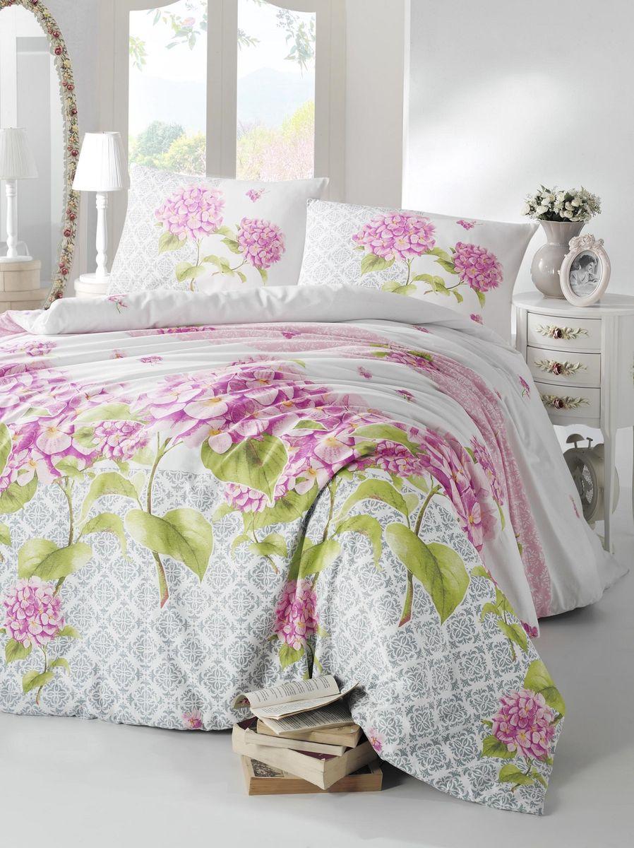 Комплект белья Altinbasak Larin, 2-спальный, наволочки 50х70, цвет: сиреневый297/23/CHAR002