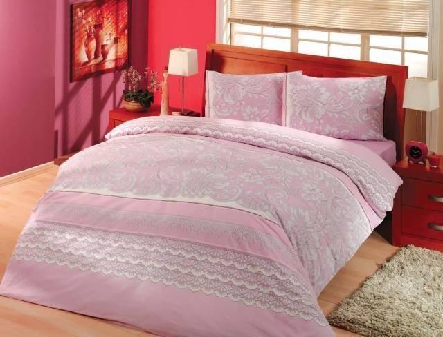 Комплект белья Altinbasak Natura, 2-спальный, наволочки 50х70, цвет: сиреневый297/28/CHAR002
