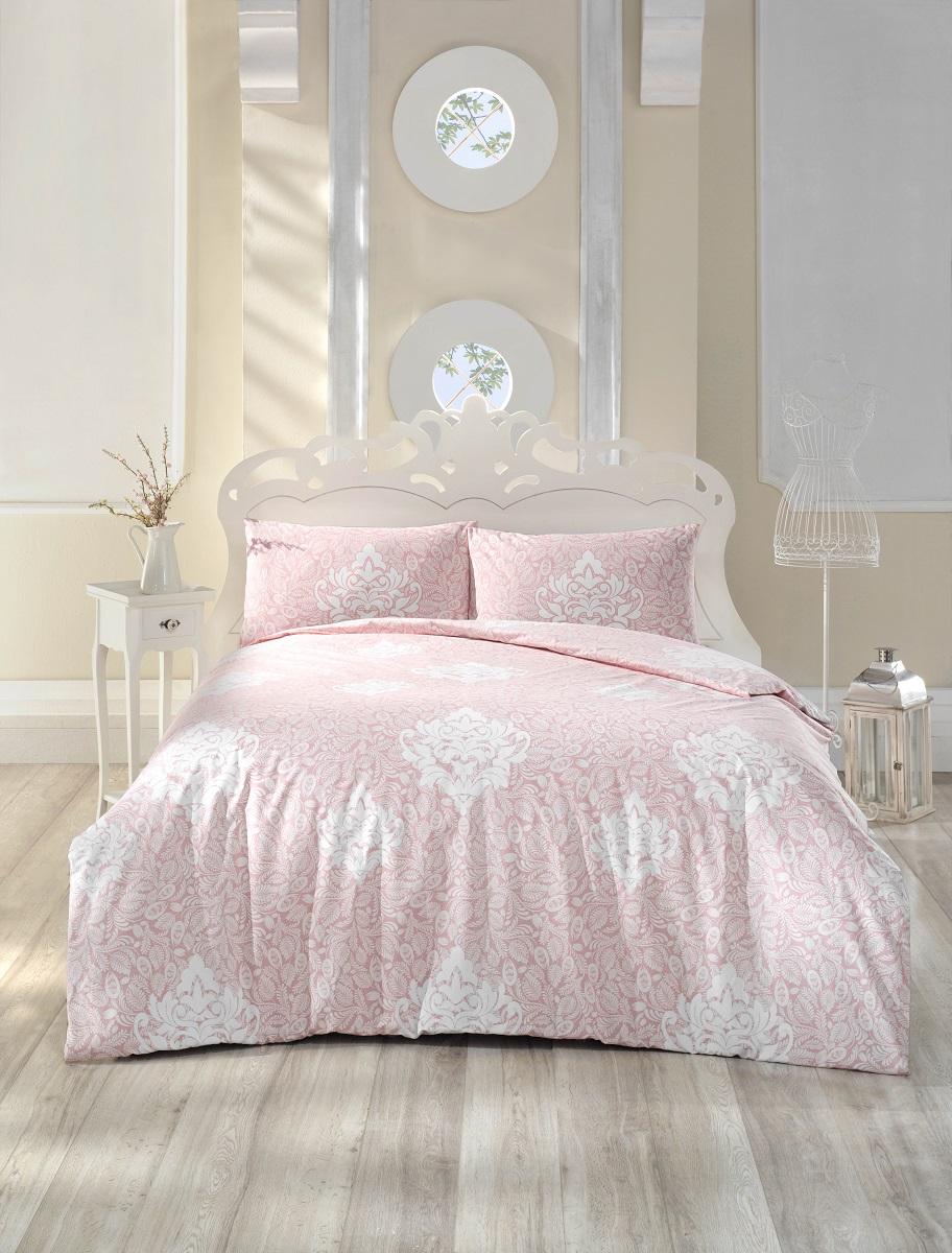 Комплект белья Altinbasak Snazzy, 2-спальный, наволочки 50х70, цвет: розовый297/34/CHAR003