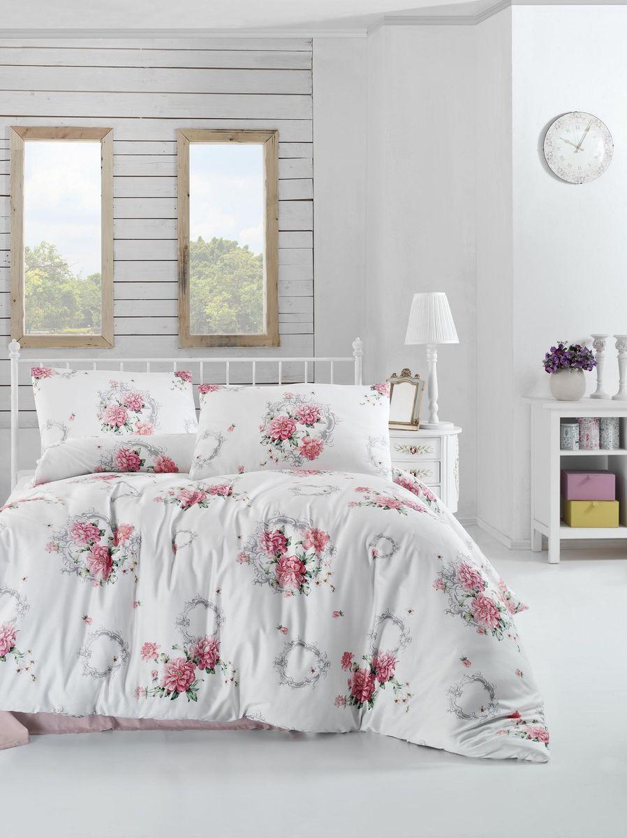 Комплект белья Altinbasak Zaira, 2-спальный, наволочки 50х70, цвет: красный297/41/CHAR001