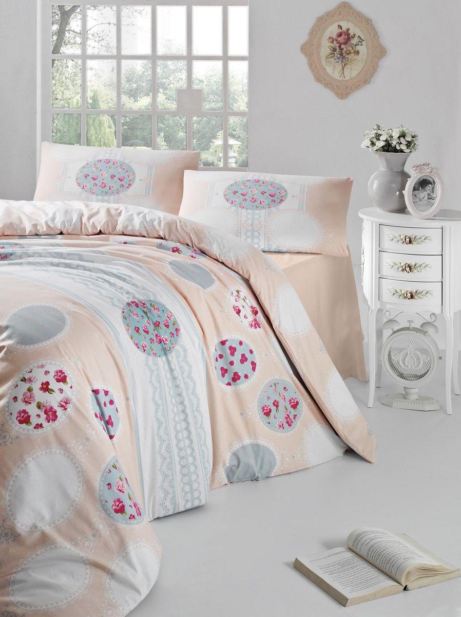Комплект белья Altinbasak Belin, 2-спальный, наволочки 50х70, цвет: кремовый297/7/CHAR001