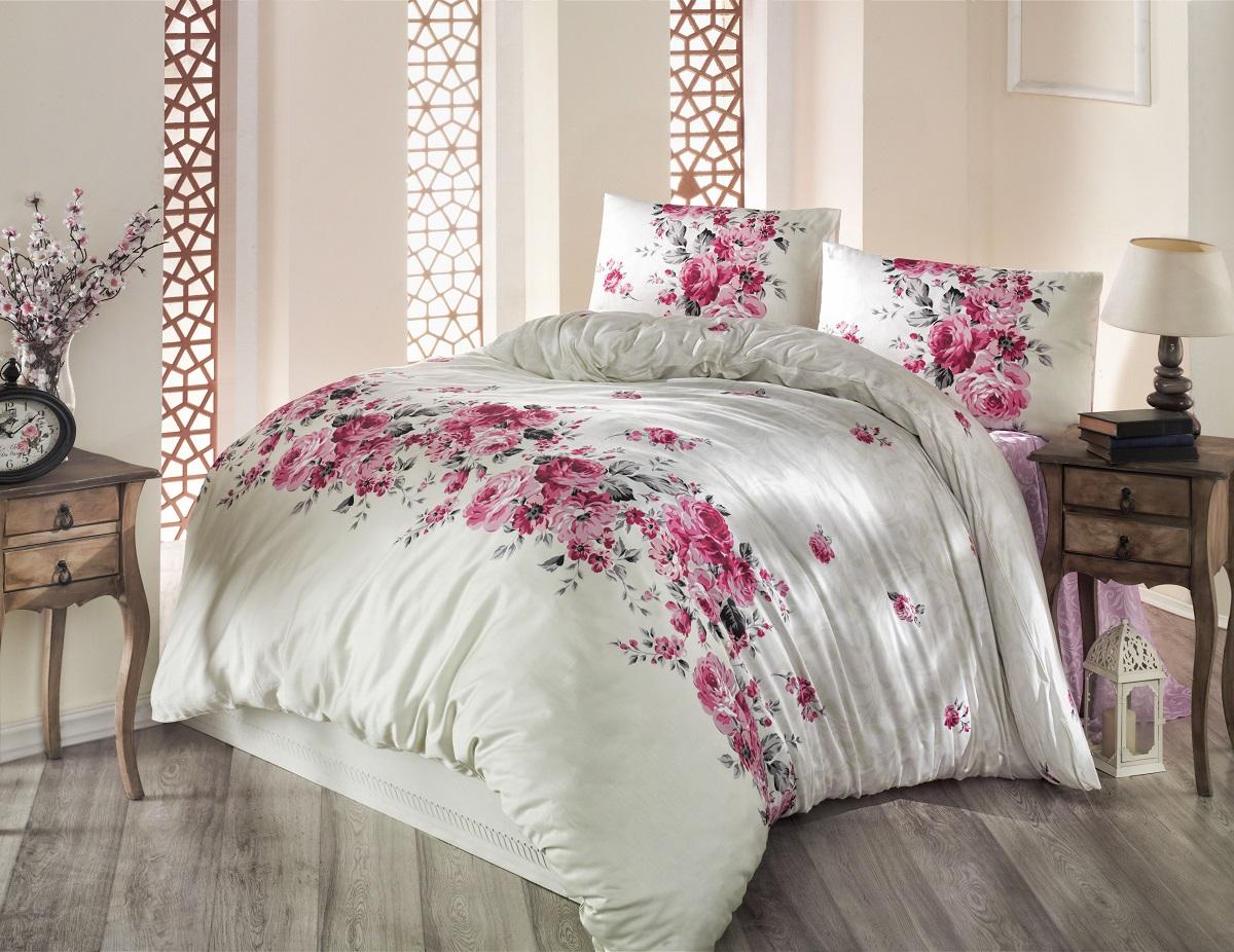 Комплект белья Altinbasak Belissa, 2-спальный, наволочки 50х70, цвет: кремовый297/8/CHAR002