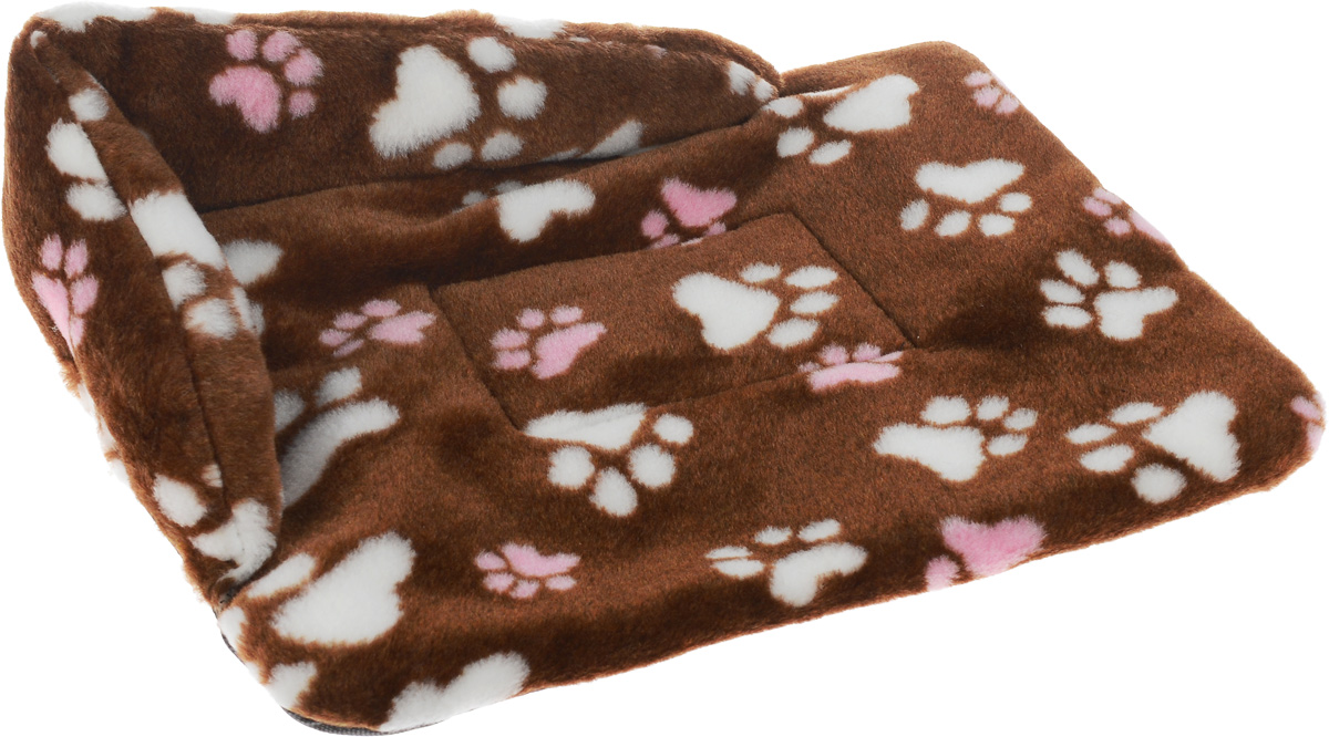 Лежак для животных Elite Valley Софа, цвет: коричневый, белый, розовый, 46 х 33 х 11 см. Л-6/10120710Лежак для животных Elite Valley Софа изготовлен из искусственного меха, наполнитель - холлофайбер. Он станет излюбленным местом вашего питомца, подарит ему спокойный и комфортный сон, а также убережет вашу мебель от многочисленной шерсти. На таком лежаке вашему любимцу будет мягко и тепло.
