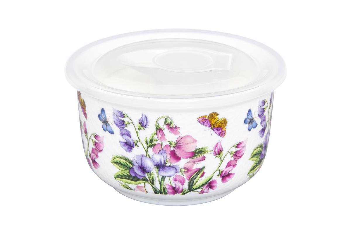 Салатник Elan Gallery Душистый цветок, с крышкой, 300 мл54 009312Великолепный салатник Elan Gallery Душистый цветок, изготовленный из высококачественного фарфора, прекрасно подойдет для подачи различных блюд: закусок, салатов или фруктов. Такой салатник украсит ваш праздничный или обеденный стол, а оригинальное исполнение понравится любой хозяйке. Не рекомендуется применять абразивные моющие средства. Не использовать в микроволновой печи.Диаметр салатника (по верхнему краю): 10 см.Высота салатника: 6 см.