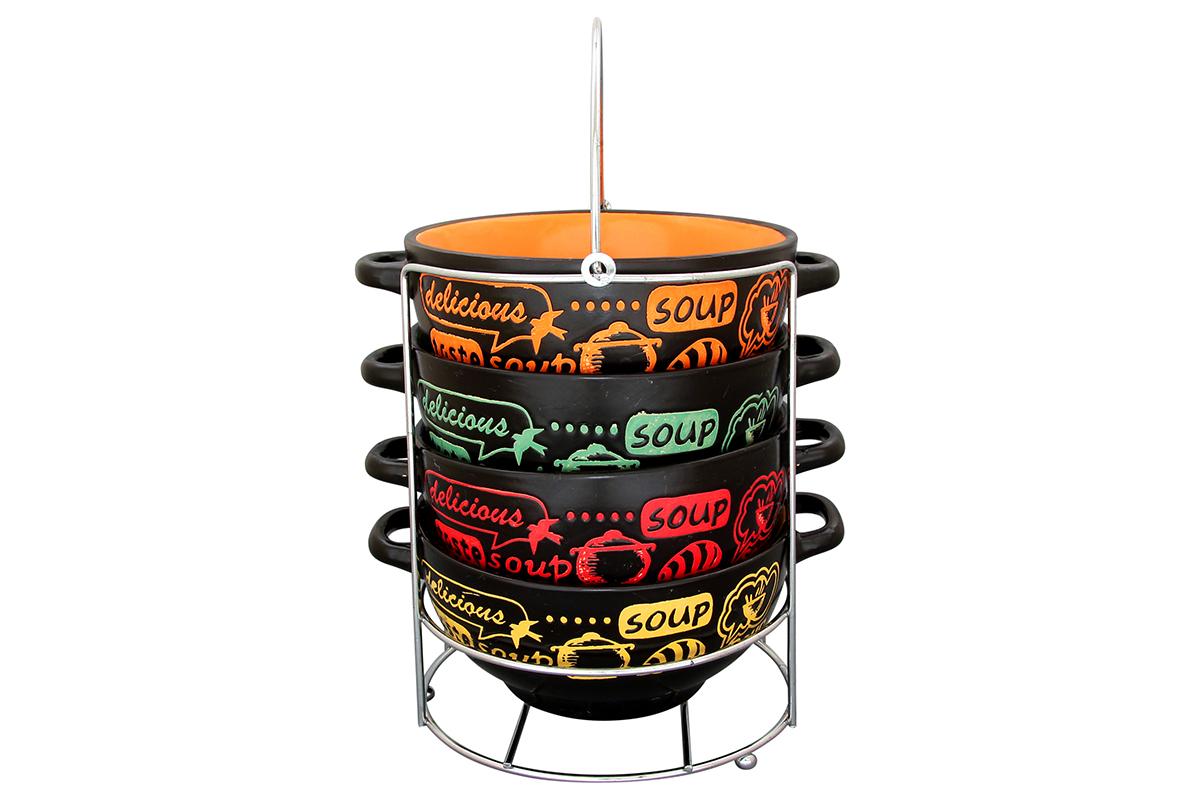 Набор бульонниц Elan Gallery Приятного аппетита, 600 мл, 4 шт115510Бульонница имеет широкую горловину для удобства. Сохранит горячим Ваш суп или бульон. Универсальна в использовании. Можно использовать в микроволновой печи и посудомоечной машине. Изделие имеет подарочную упаковку, поэтому станет желанным подарком для Ваших близких!Объем бульонницы: 600 мл.