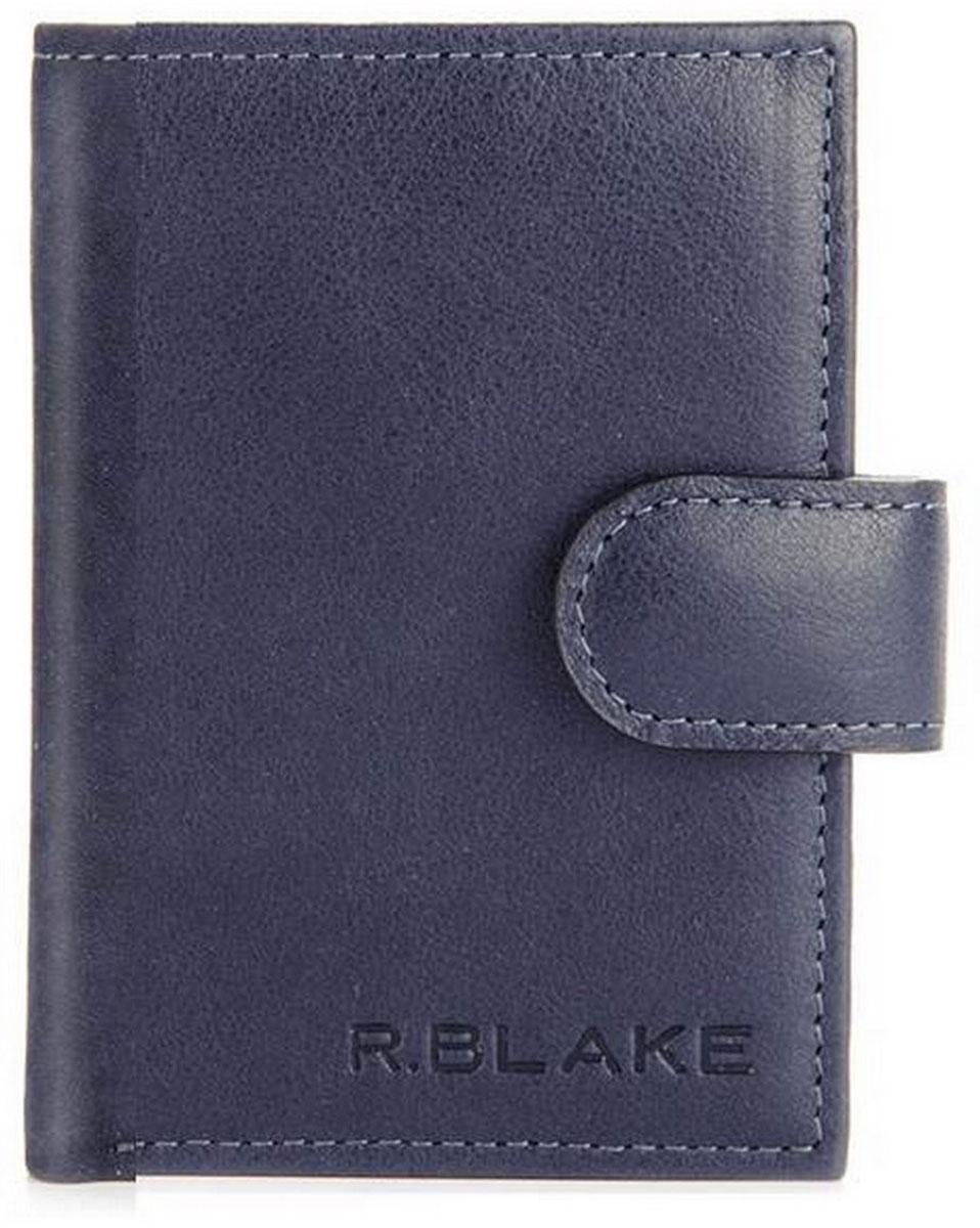 Обложка для автодокументов R.Blake Оа-3 Shammy, цвет: синий. GOA300-000000-D0608O-K101VCA-00Обложка для автодокументов R.Blake Оа-3 Shammy - это уменьшенный размер бумажника водителя из натуральной кожи. Обложка закрывается на хлястик.Внутри автономное отделение для купюр.