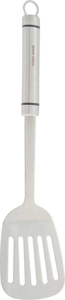 Лопатка кухонная Dosh Home Orion, длина 36 см54 009312Кухонная лопатка Dosh Home Orion, выполненная из нержавеющей стали, подходит для работы с горячими продуктами. Ручка оснащена отверстием, за которое вы сможете подвесить изделие в любое удобное для вас место. Лопатка Dosh Home Orion займет достойное место средиаксессуаров на вашей кухне. Не рекомендуется мыть в посудомоечной машине.Общая длина: 36 см.Размер рабочей поверхности: 9,2 х 7,8 см.