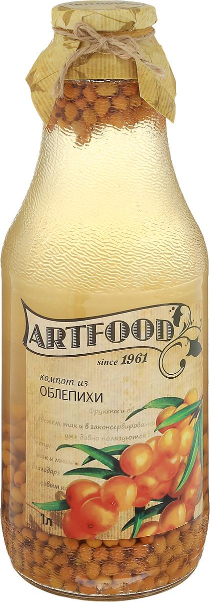 где купить  Artfood компот из облепихи, 1 л  по лучшей цене