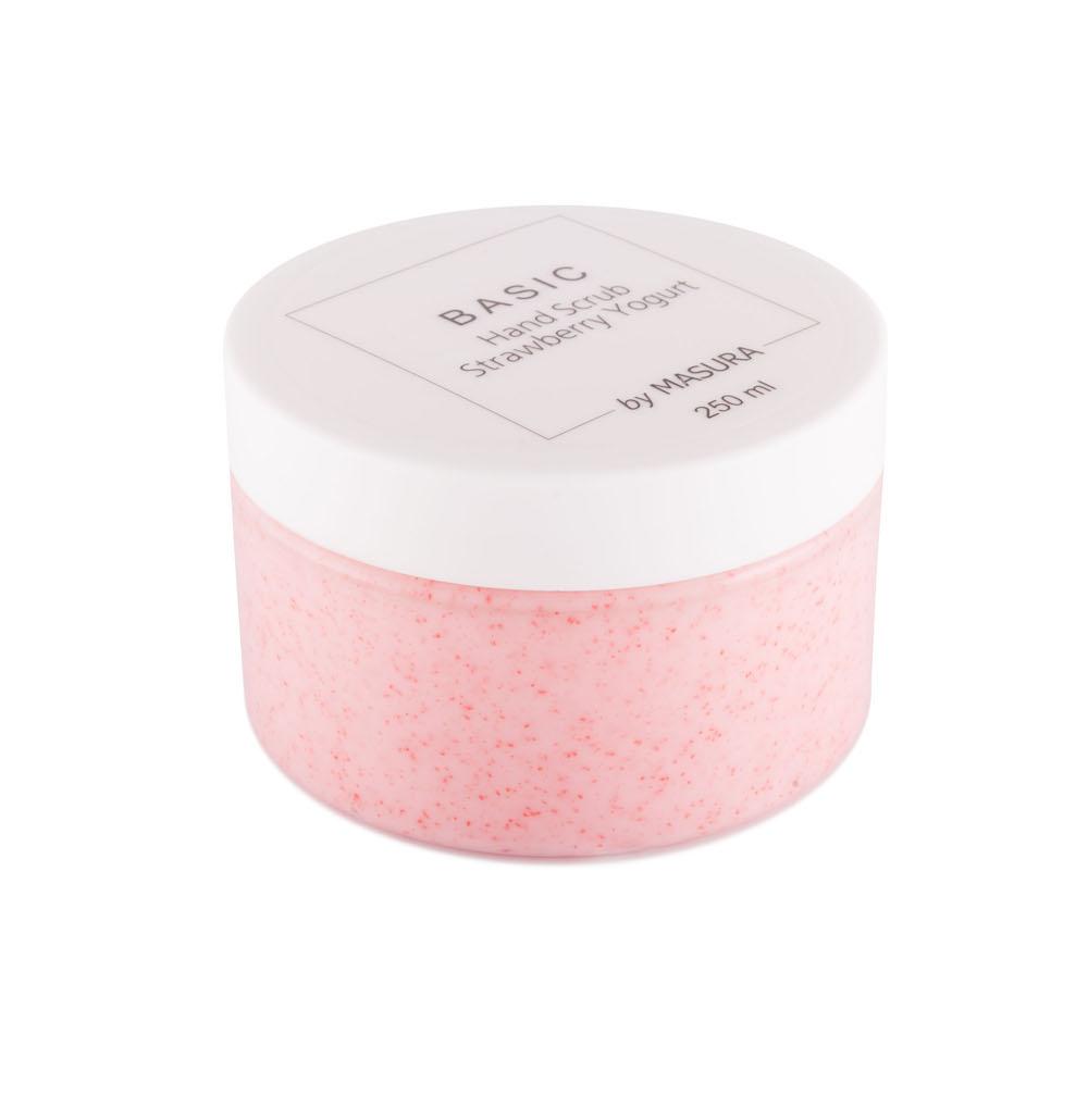 Masura Cкраб для рук «Strawberry Yogurt» с натуральным экстрактом клубники, ромашки и жожоба, 250 млFS-00897Cкраб для рук «Клубничный Йогурт» с натуральным экстрактом клубники, ромашки и жожоба. Стимулирует выработку коллагена, разглаживает мелкие морщинки, придает коже здоровый ухоженный вид. Подходит для чувствительной кожи.
