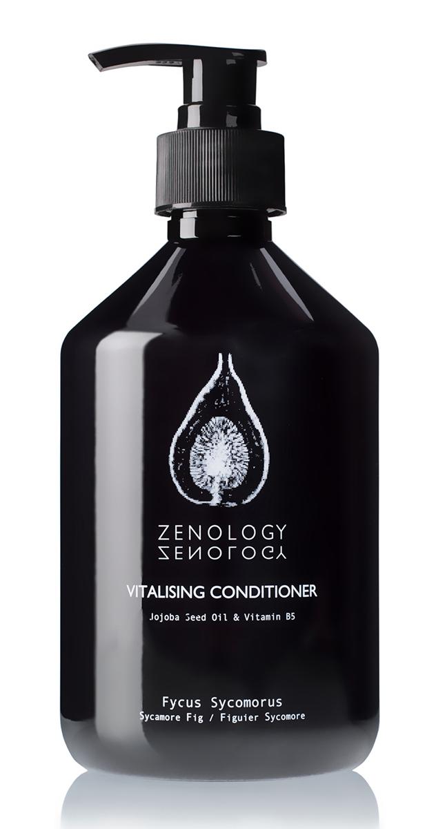 Zenology Восстанавливающий Кондиционер для волос Египетская Фига 500 млFS-36054Кондиционер подходит для всех типов волос, делает их послушными и блестящими, нежно увлажняет и питает кожу головы. В состав входят: целебное масло жожоба и бодрящая перечная мята.