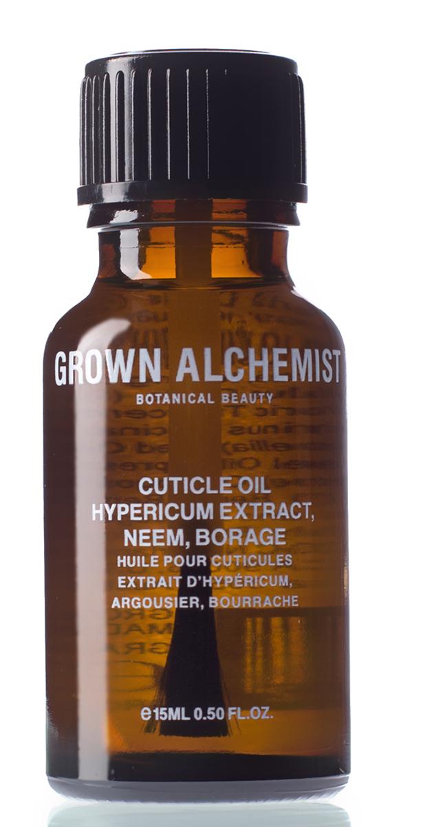 Grown Alchemist Масло для кутикулы 15 млKNP294Специальная формула, эффективно укрепляющая и восстанавливающая кутикулу и ногти. Заметно уменьшает морщинки вокруг кутикул, делая кожу ногтевого валика мягкой и гладкой.