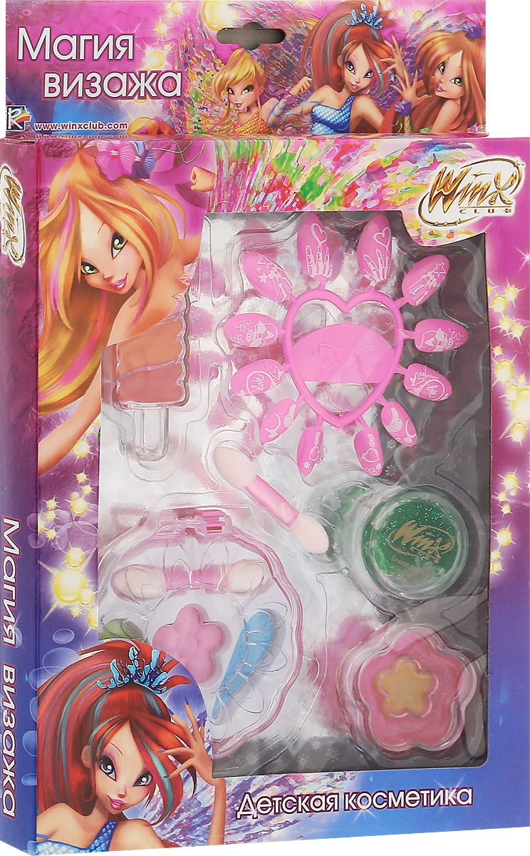 Winx Club Набор детской декоративной косметики Магия визажа набор для творчества winx 34 21 37 см 1 4 smoby