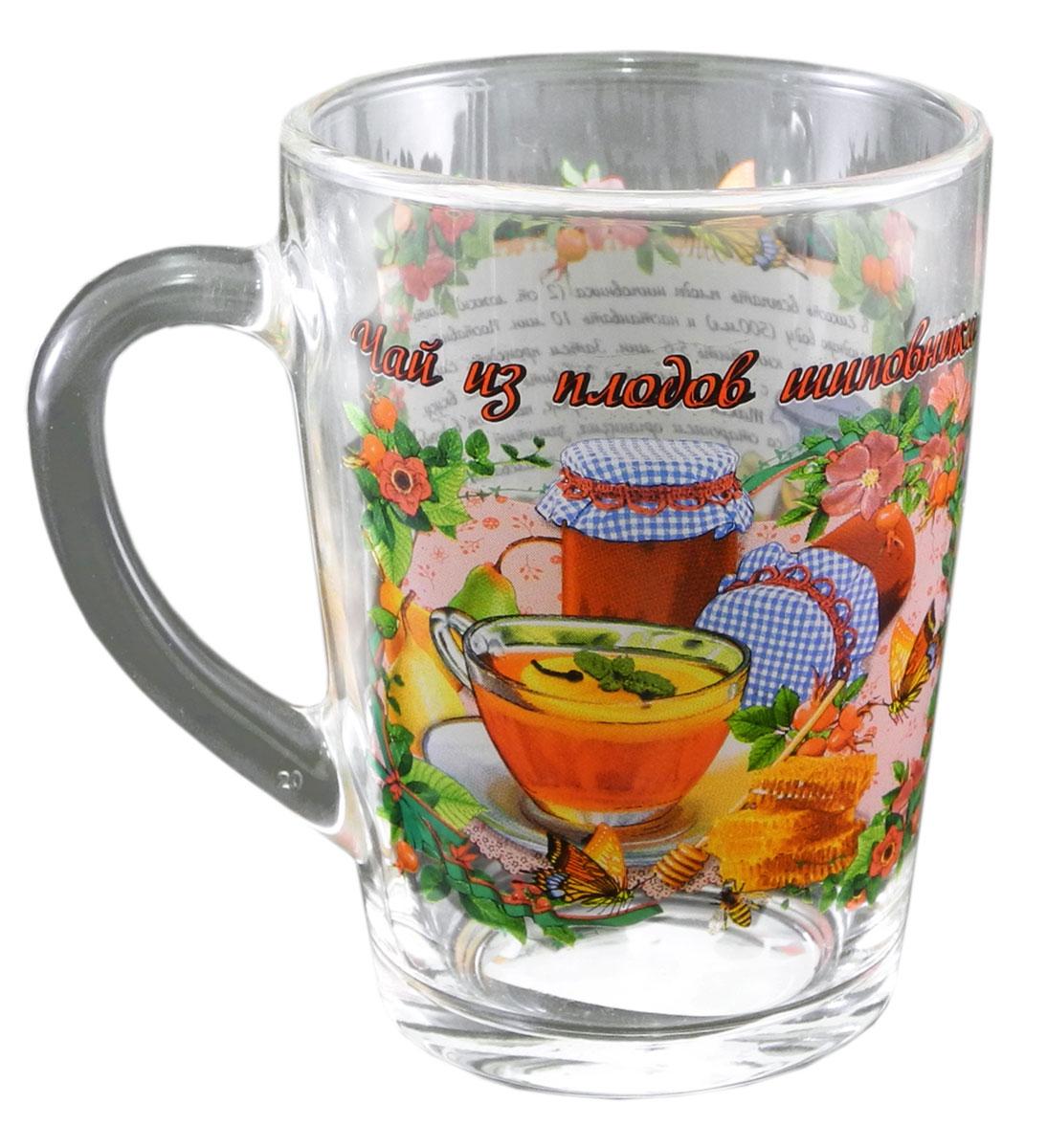 Кружка чайная Квестор Каппучино. Чай из плодов шиповника, 300 мл54 009312Кружка чайная Квестор Каппучино. Чай из плодов шиповника, 300 мл