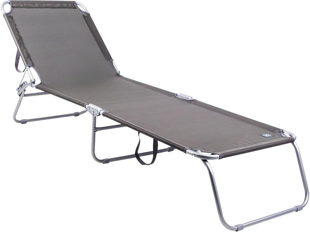 Раскладушка GoGarden Camper, садовая, 189 х 58 х 28 смAS009Раскладушка GoGarden Camper - многофункциональный предмет мебели.В отличие от шезлонга на ней можно не только загорать и отдыхать на свежем воздухе, но и использовать ее как дополнительное спальное место как на даче, так и в городе. Раскладушку можно хранить на открытом воздухе в течение всего сезона так как сиденье сделано из сетчатого материала TEXTILENE устойчивого к ультрафиолетовому излучению и образованию плесени. Благодаря своей структуре материал не впитывает влагу, быстро сохнет и очень простой в уходе.3-х позиционная регулировка наклона спинки позволяет принять наиболее комфортное положение. В сложенном состоянии не занимает много места, имеет удобные лямки для переноски.Рама раскладушки выполнена из высококачественной 19 мм стали с покрытием от царапин и коррозииРазмер в разложенном виде: 189 х 58 х 28 см.Размер в сложенном виде: 55 х 77 х 12 см.Вес: 5,45 кг.Максимальная нагрузка: 100 кг.