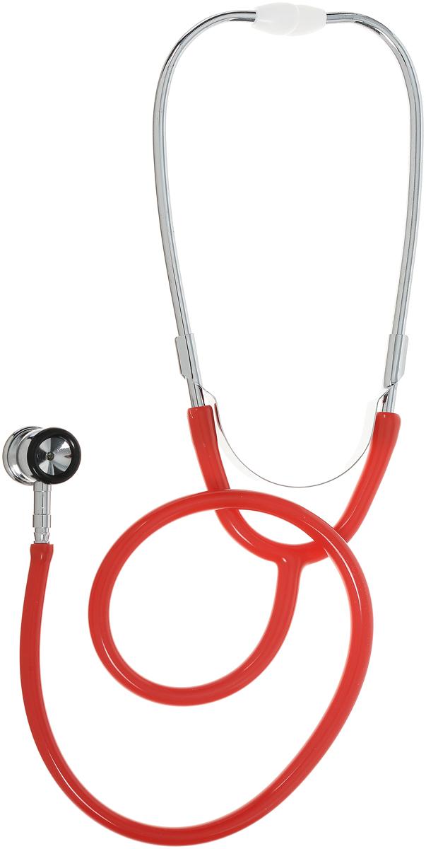 Amrus Стетоскоп медицинский двухсторонний неонатальный Диаметр мембраны 22,6 мм, диаметр воронки 21 мм цвет красный 04-AM51304-AM513_красныйХарактеристики: Маленькая двухсторонняя металлическая вращающаяся головка с чувствительной мембраной; Воронка с резиновым кольцом, улучшающим акустические свойства и не вызывающим озноба; Простой поворотный механизм переключения между рабочими поверхностями воронки и мембраны; Прочная Y-образная звукопроводящая трубка; Бинауральные хромированные трубки с наружной пружиной; Виниловые ушные оливы конической формы; Диаметр мембраны 22,6 мм.; Диаметр воронки 21 мм.; Диаметр трубки 9 мм.; Длина трубки 55 мм.; Цветовая гамма: зеленый Гарантийный срок эксплуатации - один год со дня ввода в эксплуатацию.Предназначен для аускультации сердца, легких и других внутренних органов у новорожденных и младенцев.