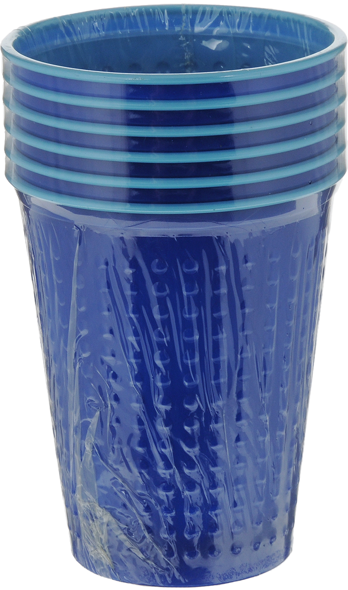 Набор одноразовых стаканов Buffet BiColor, цвет: альпийская черника, 200 мл, 6 шт181232Набор Buffet BiColor состоит из 6 стаканов, выполненных из полистирола и предназначенных для одноразового использования.Одноразовые стаканы будут незаменимы при поездках на природу, пикниках и других мероприятиях. Они не займут много места, легки и самое главное - после использования их не надо мыть.Диаметр стакана (по верхнему краю): 7 см.Высота стакана: 8,3 см.Объем: 200 мл.