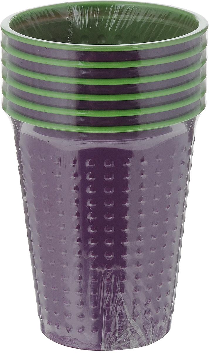Набор одноразовых стаканов Buffet BiColor, цвет: испанский арбуз, 200 мл, 6 шт181102Набор Buffet BiColor состоит из 6 стаканов, выполненных из полистирола и предназначенных для одноразового использования.Одноразовые стаканы будут незаменимы при поездках на природу, пикниках и других мероприятиях. Они не займут много места, легки и самое главное - после использования их не надо мыть.Диаметр стакана (по верхнему краю): 7 см.Высота стакана: 8,3 см.Объем: 200 мл.