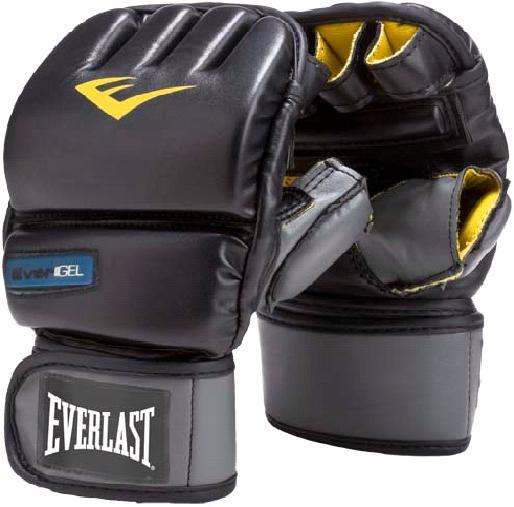 Перчатки снарядные Everlast PU Gel. Размер S/MPG-2045Снарядные перчатки Everlast Evergel Wristwrap Heavy Bag Boxing Gloves изготовлены с применением новейших технологий. EverGel™, одна из таких технологий, усиливает синтетический пенный наполнитель набивки дополнительным гелевым слоем, что значительно увеличивает амортизацию ударов и снижает риск получить травму. Две другие, EverCool™ и EverDri™, обеспечивают превосходную вентиляцию ладони и оставляют руки сухими даже при самых активных тренировках, одновременно борясь с вредными микробами и плохим запахом. Evergel Wristwrap Heavy Bag Boxing Gloves изготовлены из качественного кожезаменителя, что, наряду с оригинальным дизайном, обеспечивает им большой запас прочности и хорошую износоустойчивость. Фиксация на запястье осуществляется с помощью застежки на липучке, позволяя подогнать перчатки под необходимый размер.Снарядные перчатки Everlast Evergel Wristwrap Heavy Bag Boxing Gloves предназначены для работы с тяжелыми мешками, лапами и скоростными грушами.